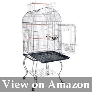 cockatiel birdcage with stand review