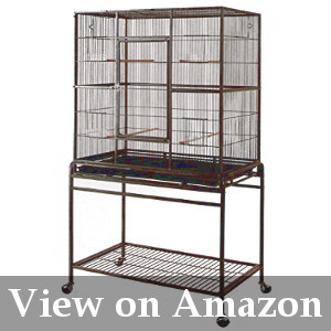 large durable cockatiel cage review