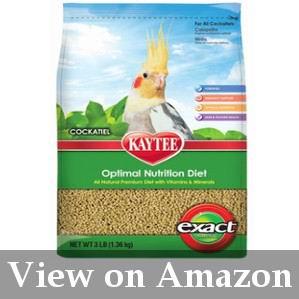 best food for cockatiel birds review
