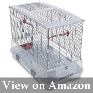 bird friendly cage with debris guard