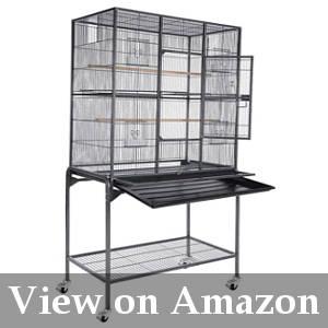 spacious cockatiel cage